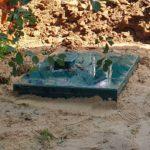 Монтаж станции автономной канализации на 3 человека под ключ